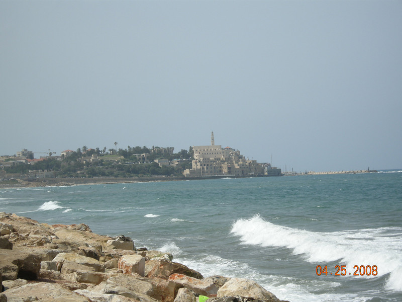 Old Jaffa from Tel Aviv Beaches