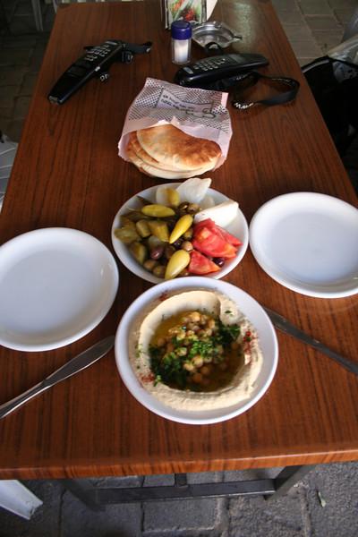 Lunch at Abu George in Akko