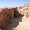 The quarry. Workers who built structures at Masada also stayed here