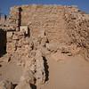 Remains of quarters at Masada