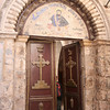 """Entrance to the Syrian Orthodox Church (said to be the location of """"the last supper"""")"""