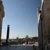Looking out to Jerusalem (west) from Jaffa gate.
