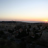 Sunrise in Jerusalem: View from our window