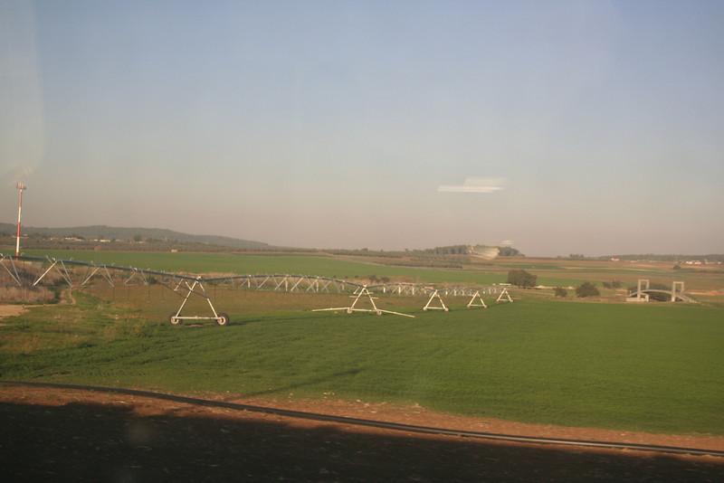 Train from Tel Aviv to Jerusalem