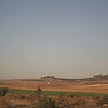 View from train from Tel Aviv to Jerusalem
