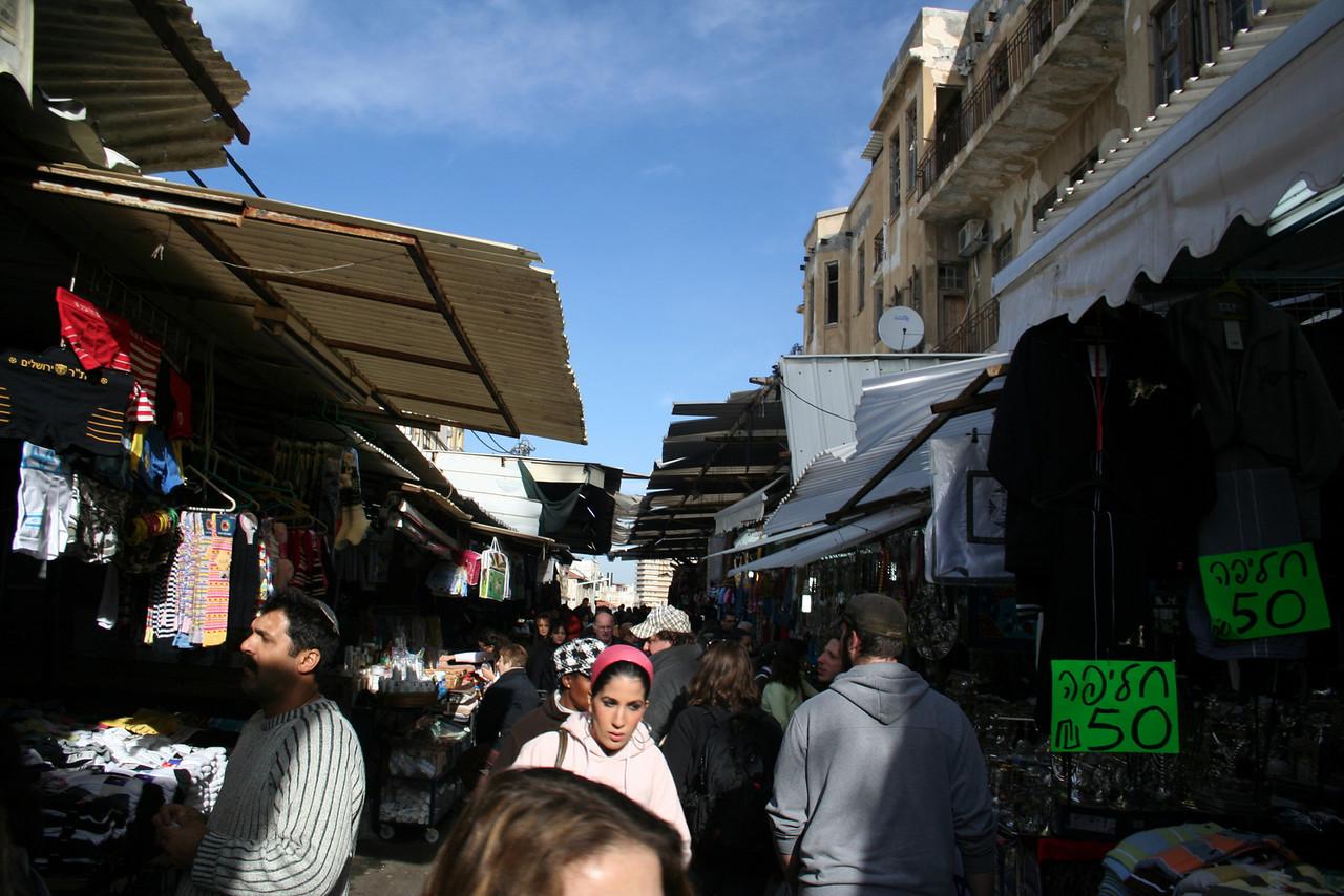 Shuk Ha'Carmel, Tel Aviv, Israel