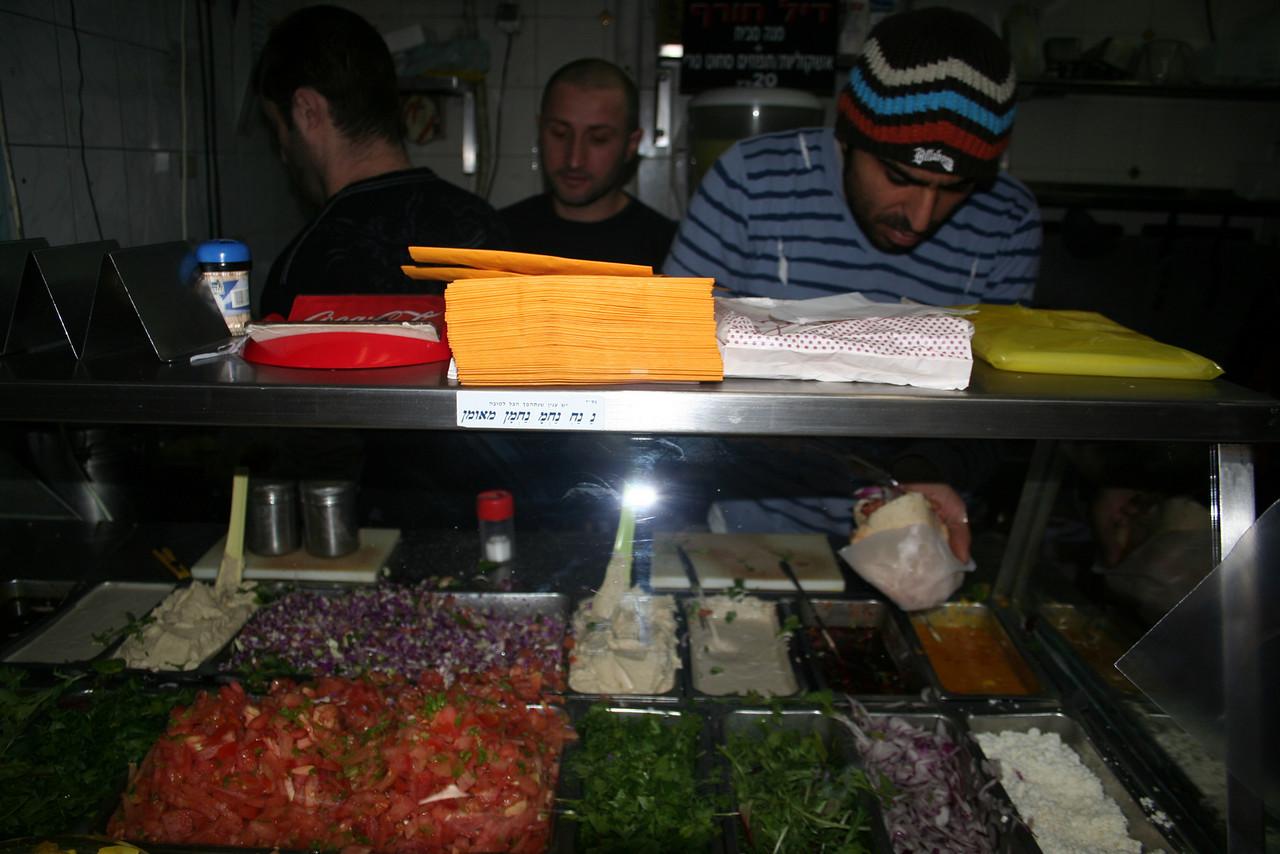 Snack shop, Tel Aviv