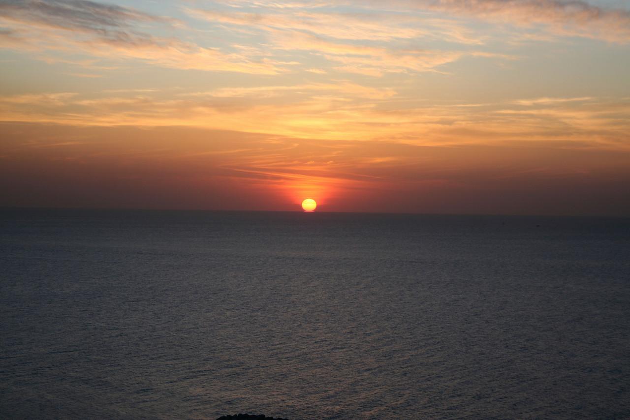 Mediterranean sunset, Tel Aviv, Israel
