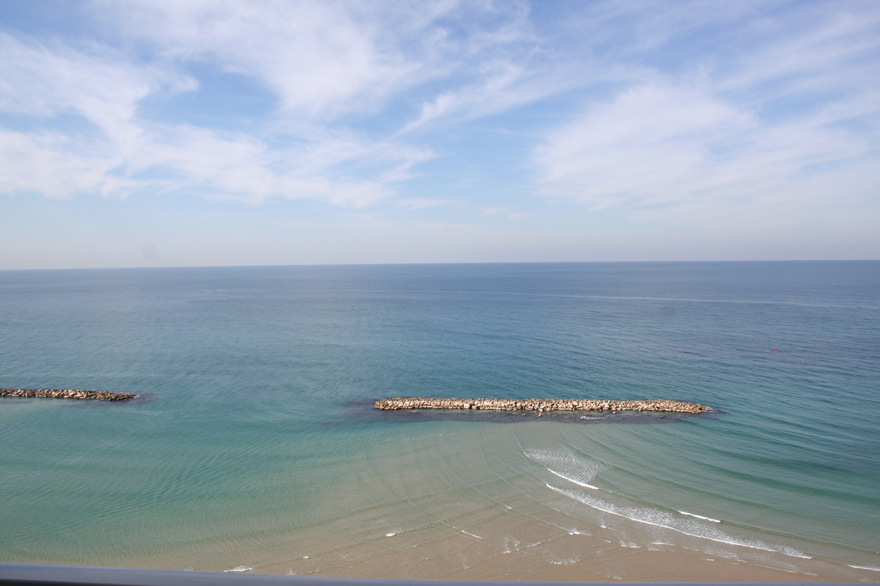View of the Mediterranean from Sheraton Tel Aviv