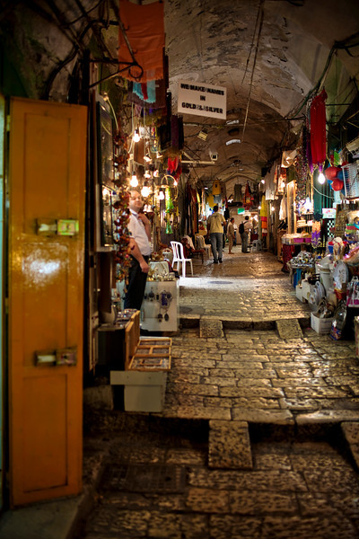 Old Jerusalem markets