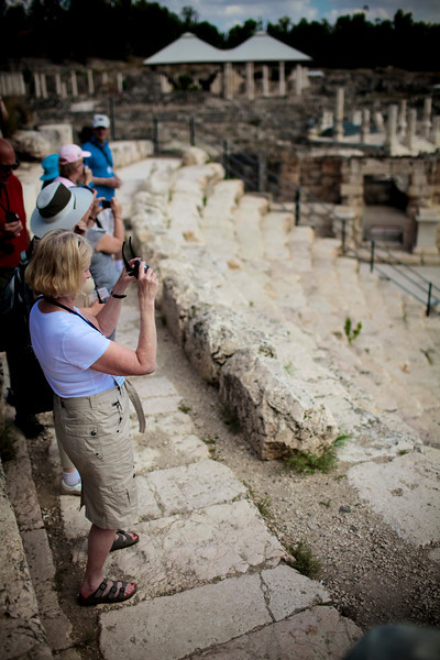 The rest of us overlooking Scythopolis