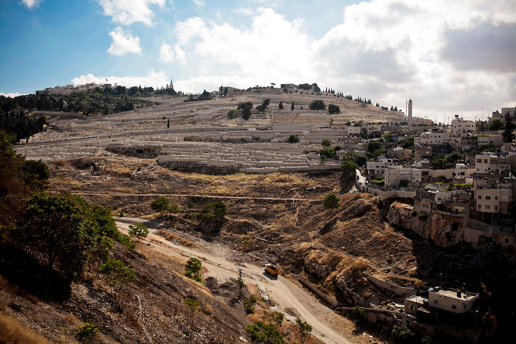Another shot of the Mount of Olives
