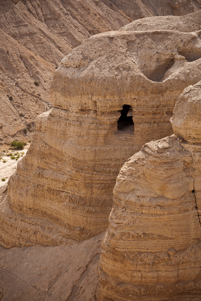 "the second set of caves at Qumran where ""Dead Sea Scrolls"" were found."