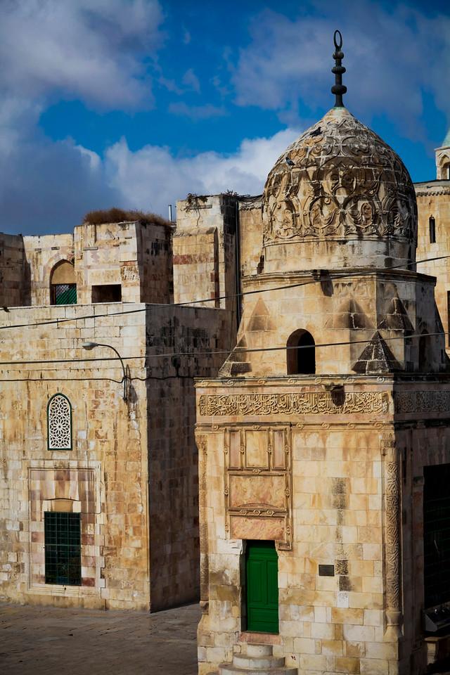 Temple Mount area