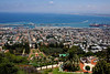 Haifa from waaaaay up on top