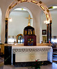 Inside the Church of the Beatitudes