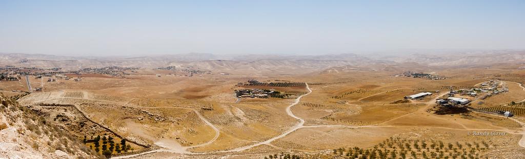 Panorama from Herodium