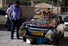 Commerce across the street from the Garden of Gethsemane.