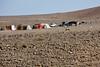 A Bedouin encampment.