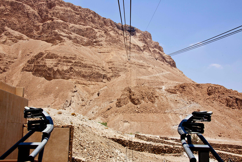 Cable car to Masada