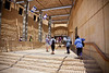 Entering Masada