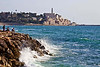 Old town of Jaffa is just south of Tel Aviv, an easy walk.
