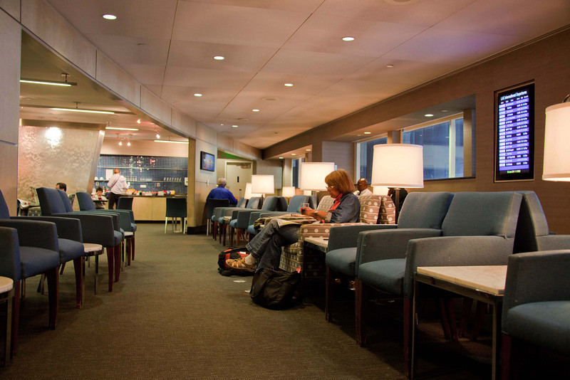 El Al Business Class Lounge at LAX