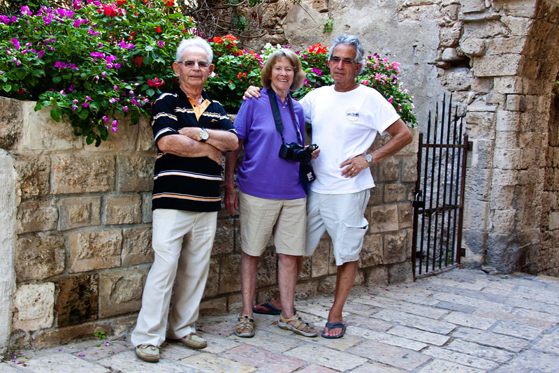 Ari, Jan, and Gary