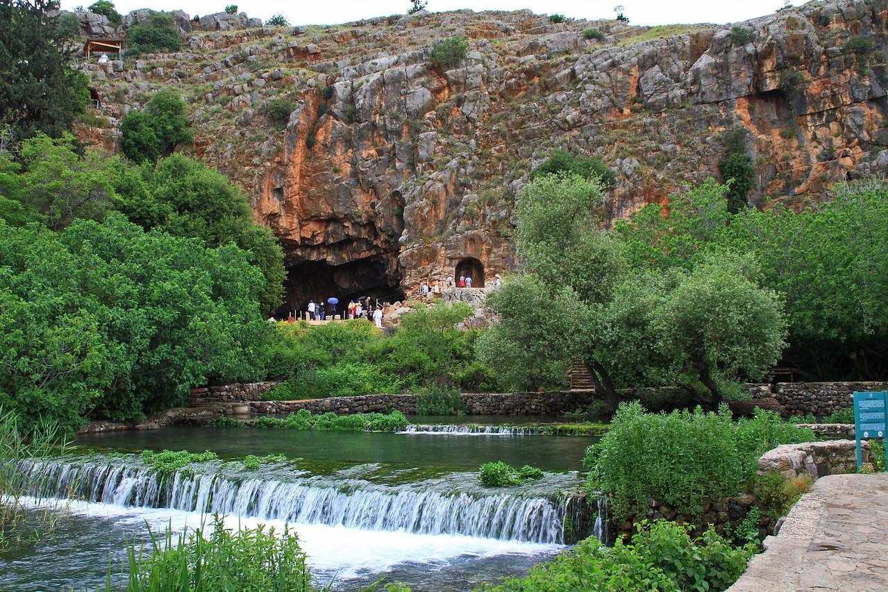 Banias Springs (Caesarea Philippe)