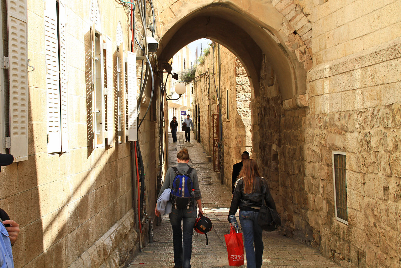 Street in Jewish Quarter