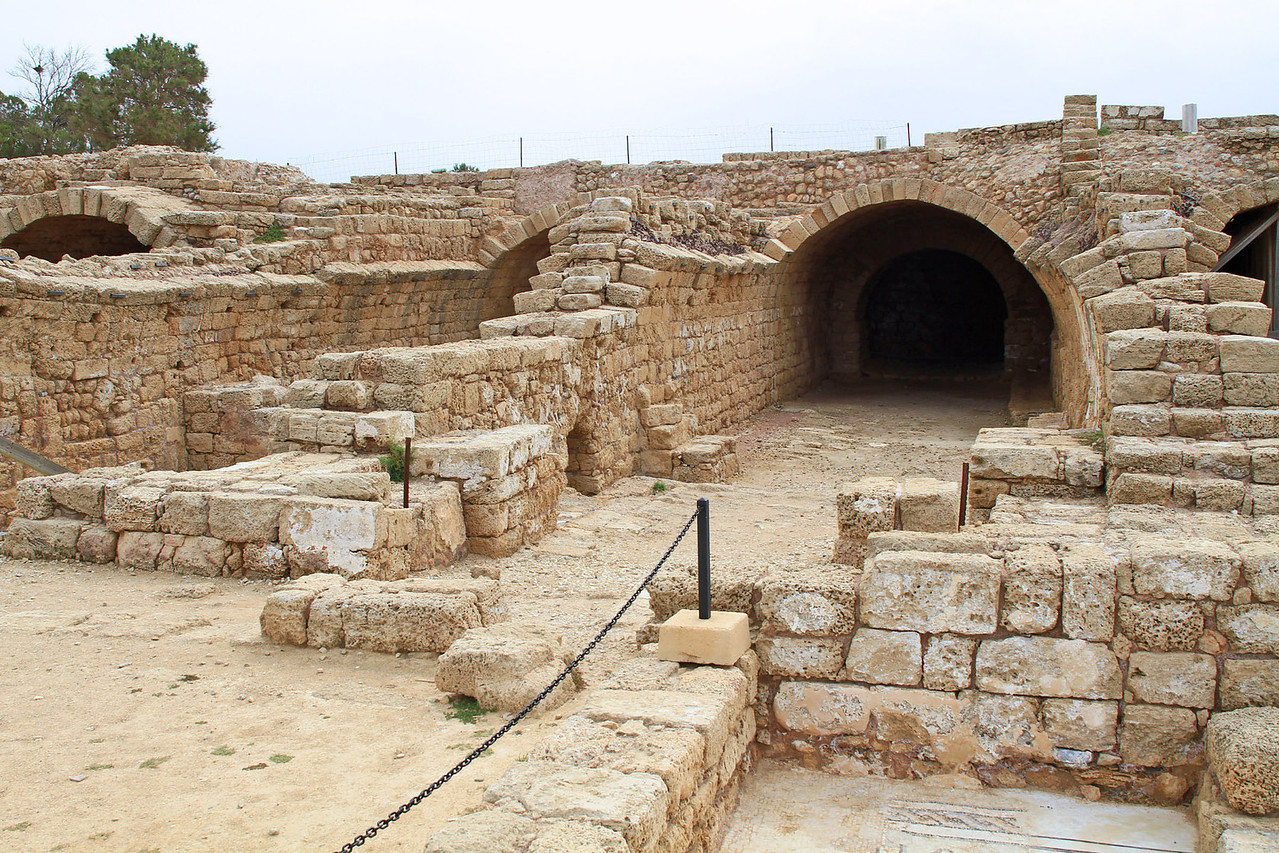 Caesarea - Palace Vaults