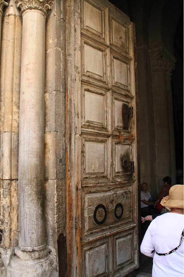 Church of the Holy Sepulchre - Entrance Doors