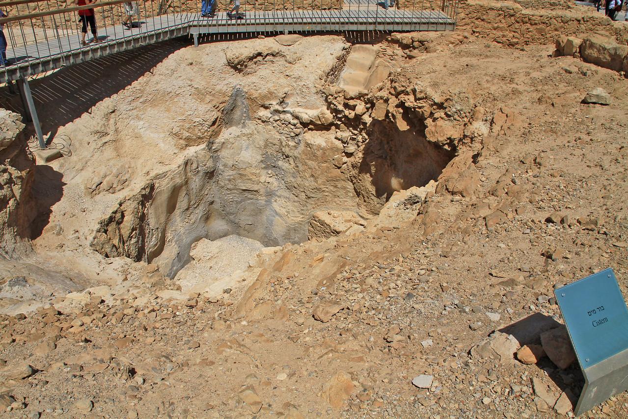 Masada - Cistern