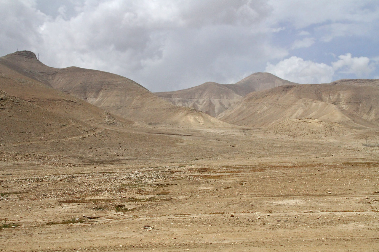 Along Jordan River Valley to Jericho