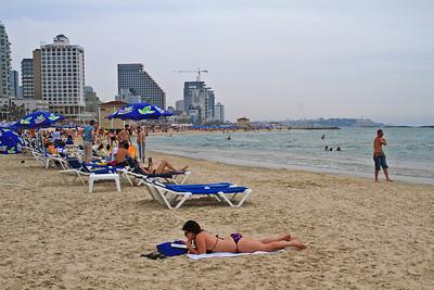 Tel Aviv Beach Near Hotel