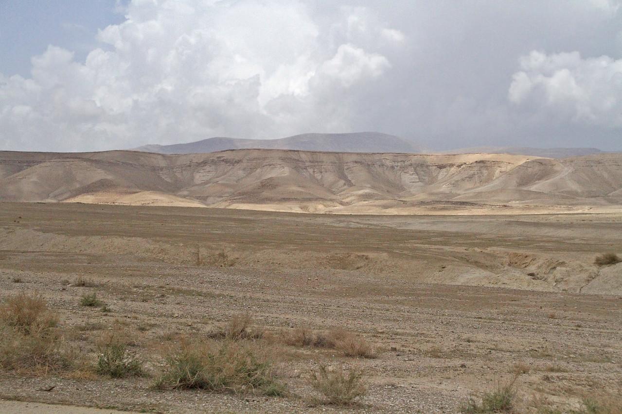 Along Jordan River Valley to Jericho