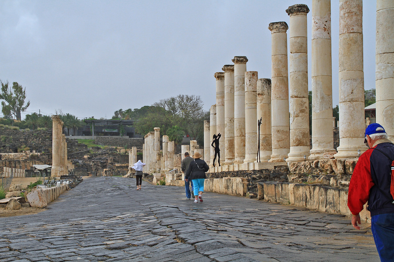 Beit Shean National Park - Main Street