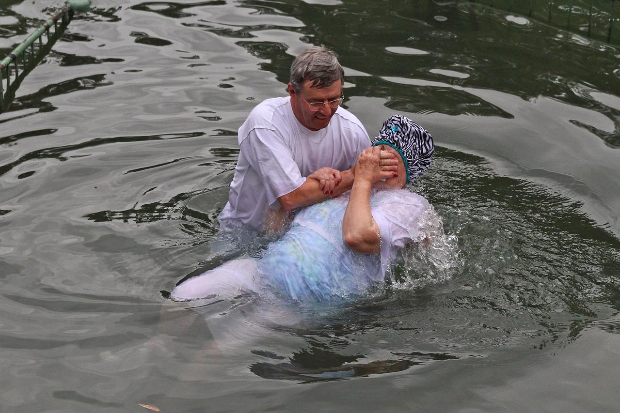 Baptism in Jordan River