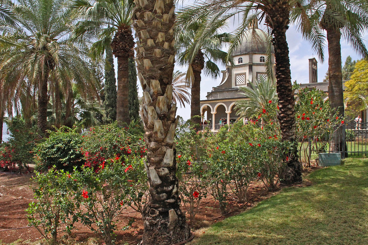 Mount of Beatitudes - Gardens