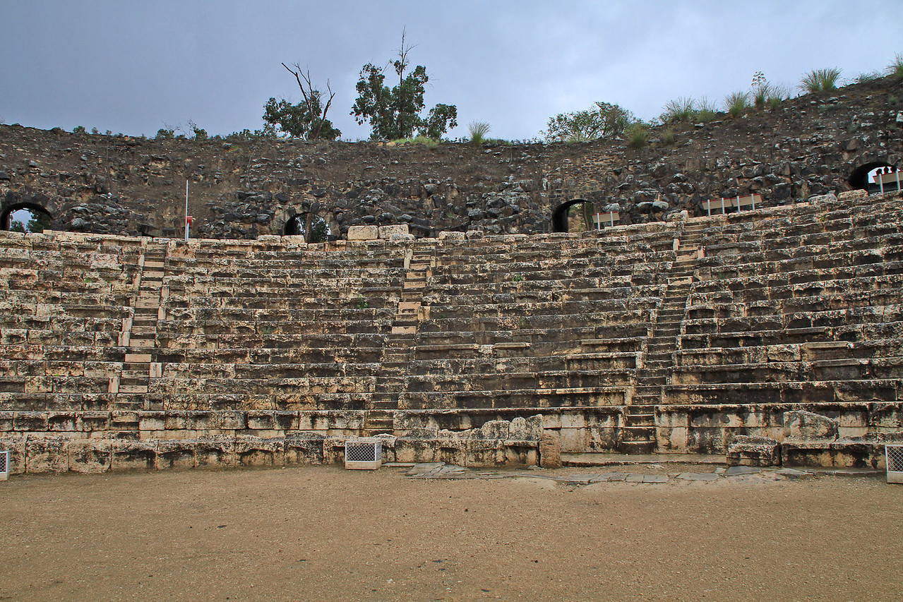 Beit Shean National Park - Colosseum