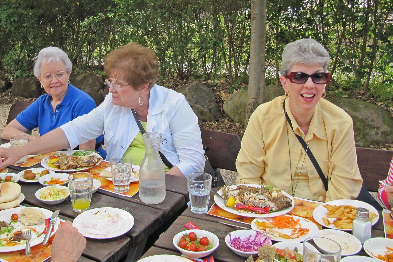 Fish Dinner - Northern Israel