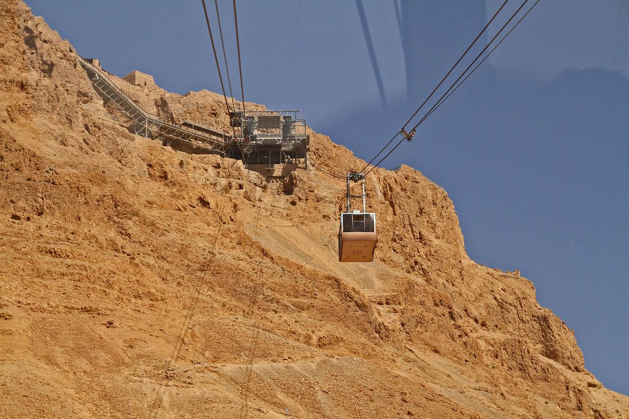 Cable Car Up to Masada