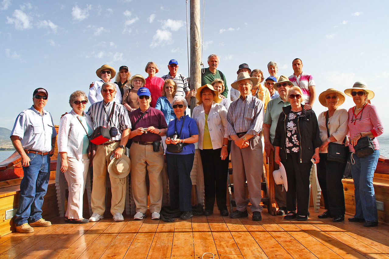 Sea of Galilee - Group Picture
