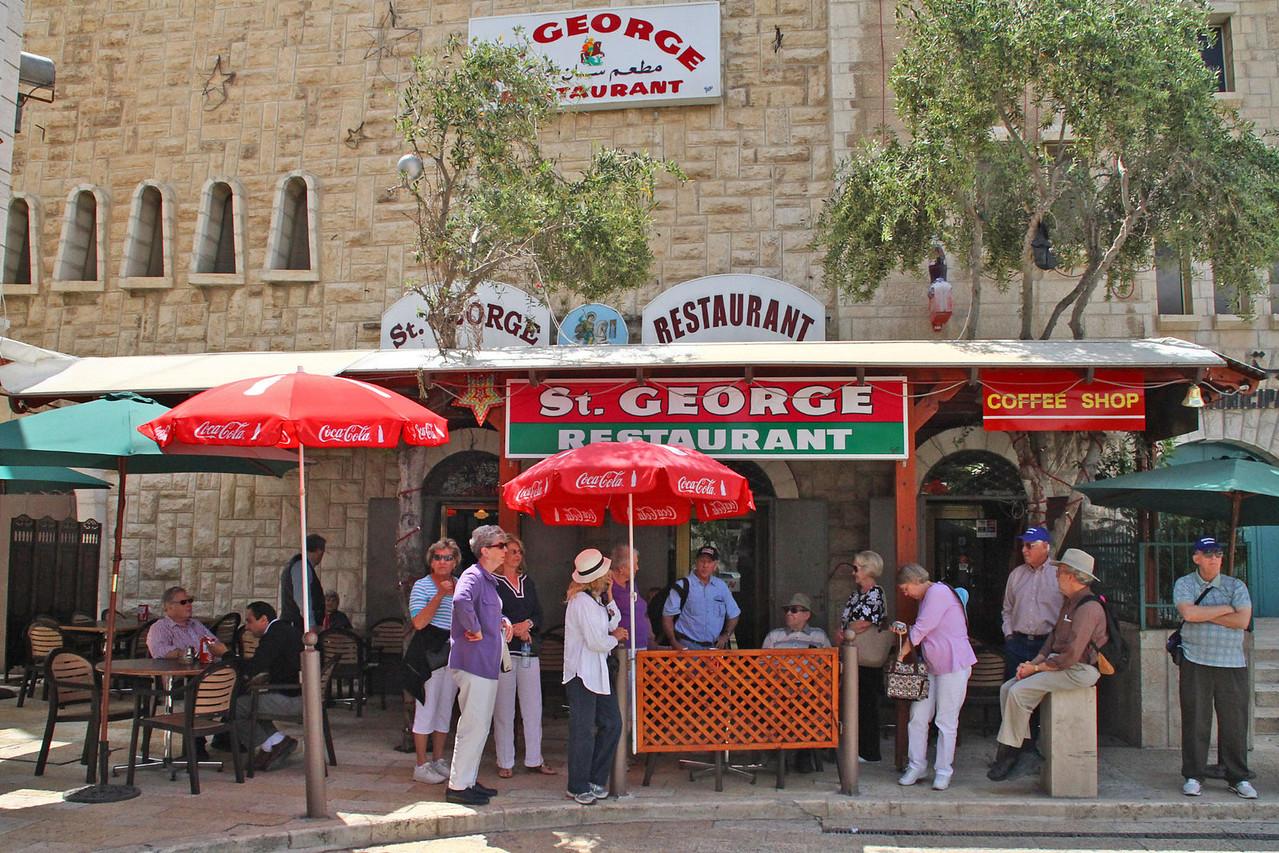 Bethlehem - George's Restaurant for Lunch