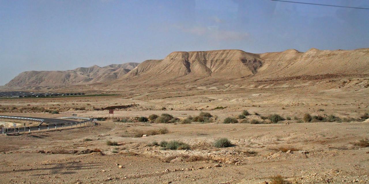Desert - Jericho to Masada
