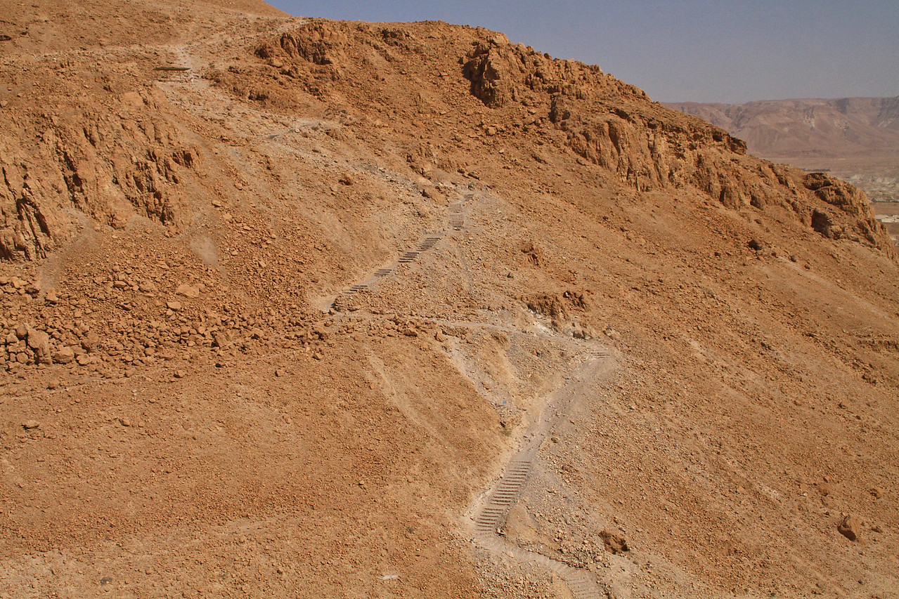 Cable Car Up to Masada - Walking Trail