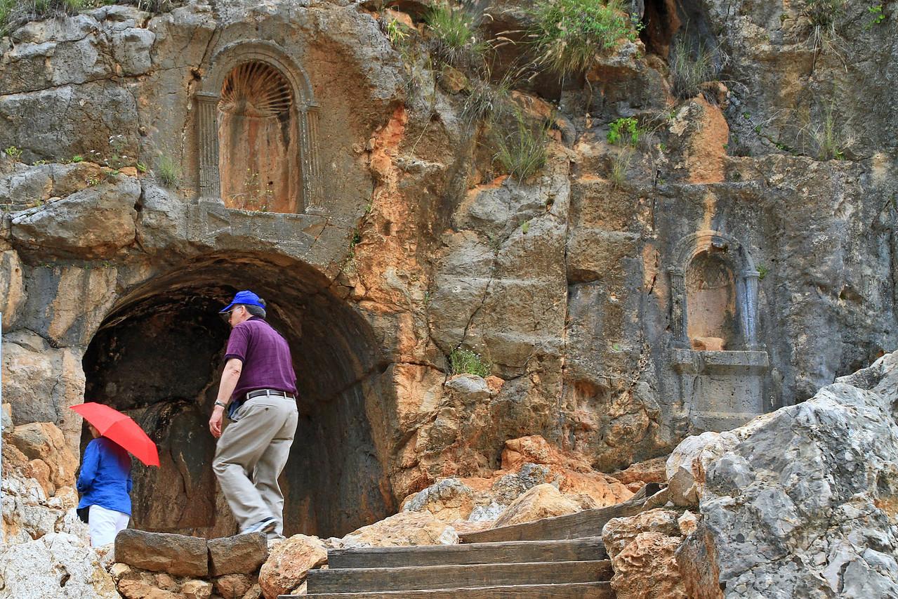 Banias Springs - Temple of Augustus