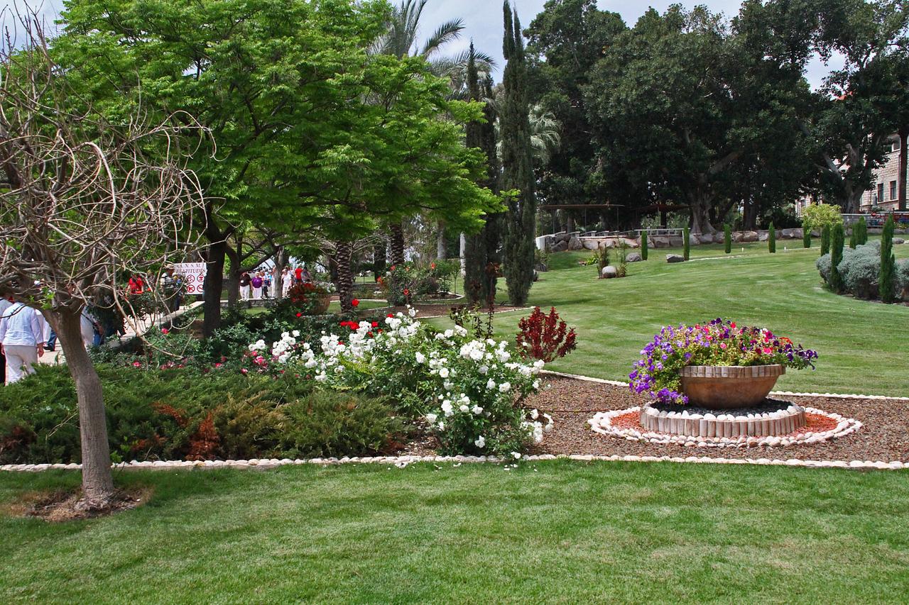 Mount of Beatitudes - Gardens