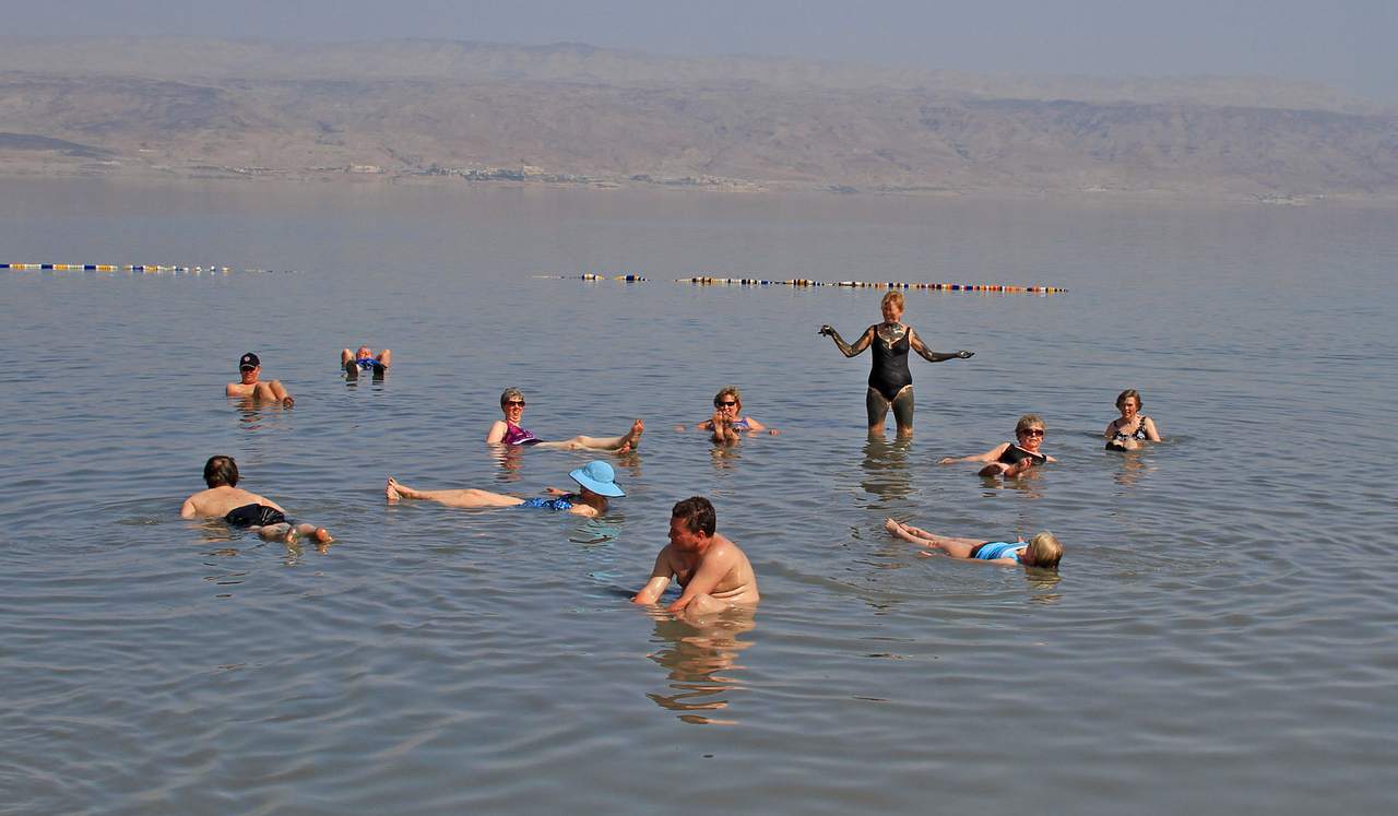 Dead Sea - Floating