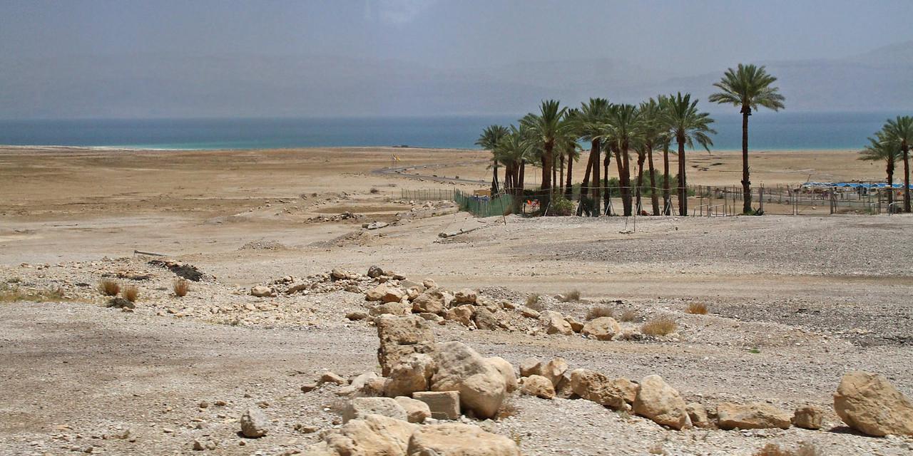 Drive along Dead Sea